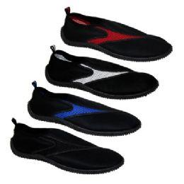 36 Units of Men's Assorted Color Water Shoes - Men's Aqua Socks