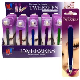 60 Units of Tweezer Display - Scissors and Tweezers