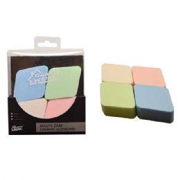 48 Units of 4 Pack Cosmetic Make Up Sponge - Cosmetics