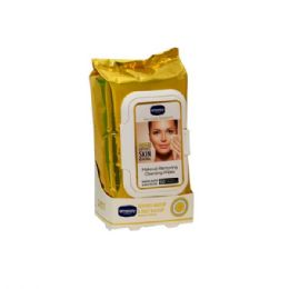 18 Units of 60 Count Amoray Make Up Removing Wipes Dead Sea - Cosmetics