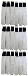 18 Units of 18 Pairs Of Wholesale Mens Full Cushion Thermal Tube Socks, Cold Resistant (9-11) - Mens Thermal Sock