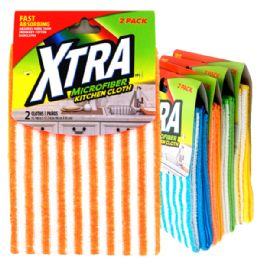 48 Units of 2 Pack Xtra Micro Fiber Cloth - Cleaning Products
