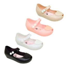 48 Units of Girl's Mary Jane Shoes In Assorted Colors - Girls Shoes