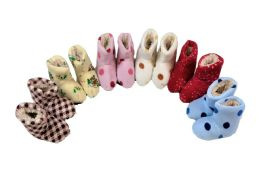 150 Units of Girls Slipper Boots Multicolored - Girls Slippers