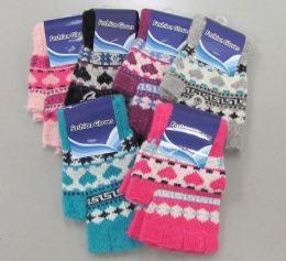 240 Units of Ladies Half Finger Glove - Winter Gloves