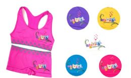 144 Units of Girl's Seamless Racer Back Bra And Boxer Set - Girls Underwear and Pajamas