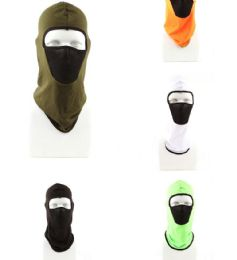 120 Units of Adult Winter Ski Mask Assorted Colors - Unisex Ski Masks