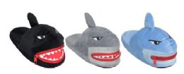 36 Units of Kids Shark Slippers - Unisex Footwear
