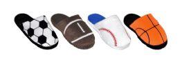 48 Units of Children's Sports Slippers - Unisex Footwear