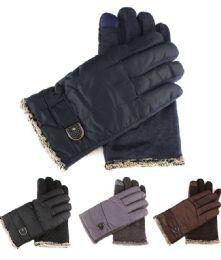 72 Units of Womans Fur Lined Extreme Weather Winter Gloves - Winter Gloves