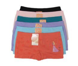216 Units of Girls Seamless Boxer - Girls Underwear and Pajamas