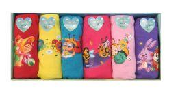 216 Units of Girls Cotton Panty - Girls Underwear and Pajamas