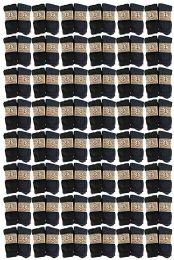 60 Units of Yacht & Smith Non Slip Gripper Bottom Men's Winter Thermal Tube Socks Size 10-13 - Mens Thermal Sock