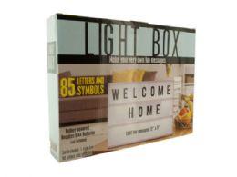 6 Units of Light Box - Lamps and Lanterns