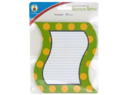 72 Units of Lemon Lime Notepad - Note Books & Writing Pads