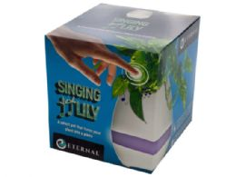 12 Units of Singing Lily Pot - Displays & Fixtures