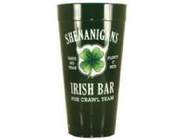 120 Units of Shenanigans Irish Bar Plastic Tumbler Cup - Cups
