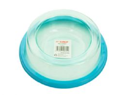 72 Units of NoN-Spill Pet Bowl - Pet Accessories