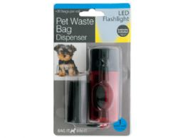 18 Units of Pet Waste Bag Dispenser Led Flashlight - Pet Accessories