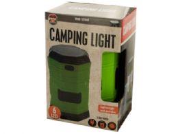 6 Units of 3-Way Power LED Camping Lantern - Camping Gear