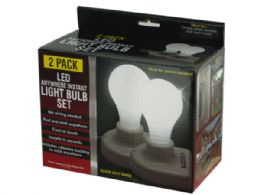 12 Units of Led Anywhere Instant Light Bulb Set - LED Party Supplies
