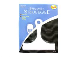 72 Units of Shower Squeegee with Hanging Hook - Hooks