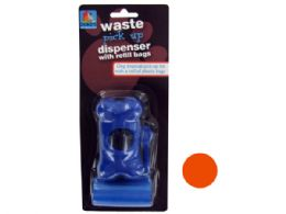 72 Units of Dog Waste Bag Dispenser With Refill Bags - Pet Toys
