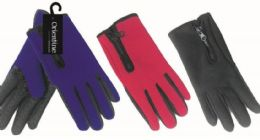 36 Units of Mens Touch Glove Assorted Colors - Conductive Texting Gloves
