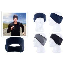 96 Units of Fleece Mens Ear Band - Fashion Winter Hats