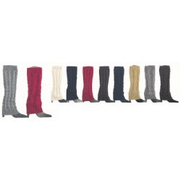 36 Units of Womens Leg Warmers - Womens Leg Warmers