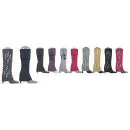 24 Units of Womens Leg Warmers Assorted Styles - Womens Leg Warmers