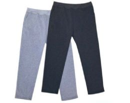 24 Units of Mens Athletic Pants Size Medium In Black And Grey - Mens Pants