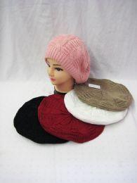 36 Units of Women's Beret Winter Fashion Hat - Fashion Winter Hats