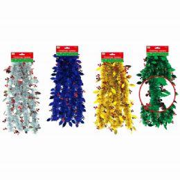 144 Units of Christmas Garland - Christmas Ornament