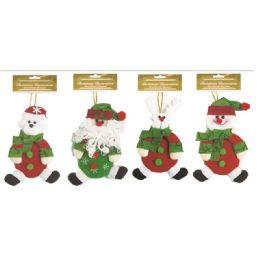 96 Units of Xmas Ornament Doll - Christmas Ornament