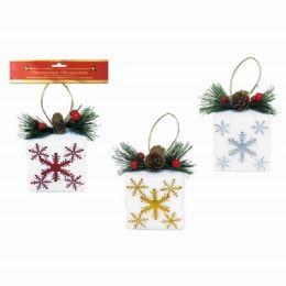 96 Units of Xmas Ornament Gift Box - Christmas Ornament