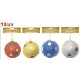96 Units of Xmas Ten Centimeter Ball - Christmas Ornament