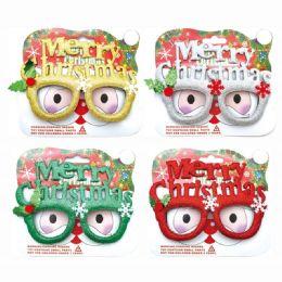 96 Units of Xmas Glasses - Christmas Novelties