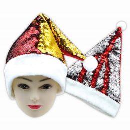 48 Units of Xmas Hat Sequin - Christmas Novelties