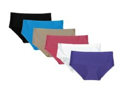 216 Units of Ladies Lazer Cut Panty - Womens Panties & Underwear