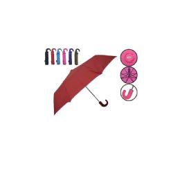 60 Units of Foldable Umbrella Assorted Colors - Umbrellas & Rain Gear