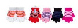 72 Units of Kids Stretch Winter Gloves - Kids Winter Gloves