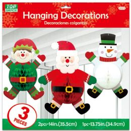 48 Units of Xmas Hanging Decoration - Christmas Decorations