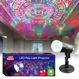 24 Units of Led Fog Light Projector - Christmas Decorations