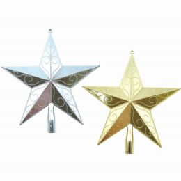 48 Units of Star Tree Topper - Christmas Ornament
