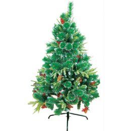 6 Units of Two Foot Xmas Optical Fiber Tree - Christmas Ornament