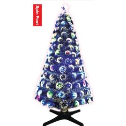 4 Units of Three Foot Xmas Optical Fiber Tree - Christmas Ornament