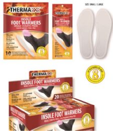 20 Units of Air Activated Foot Warmers [size S/m] - Footwear Accessories
