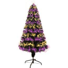2 Units of Five Foot Xmas Optical Fiber Tree - Christmas Ornament