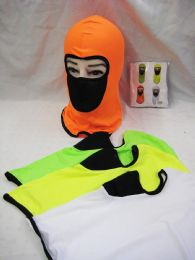 48 Units of Assorted Color Ski Mask - Unisex Ski Masks